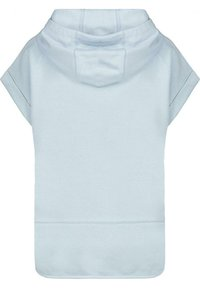 Monari - MIT HALBARM UND KAPUZE - Print T-shirt - dusty blue - 1