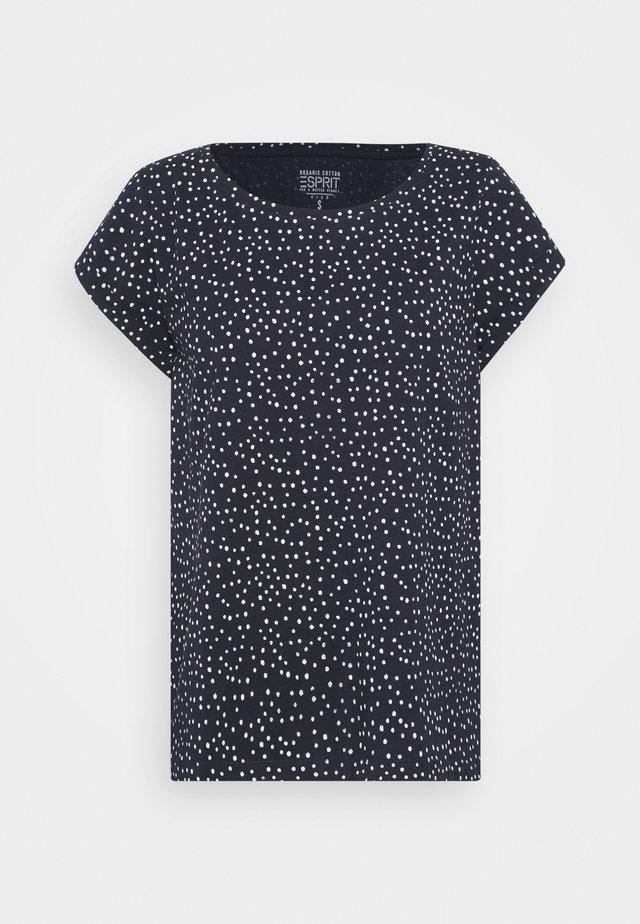 CORE - T-shirts med print - navy