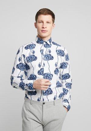 FLORAL PRINT - Shirt - blue