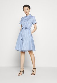 HUGO - EKALIANA - Shirt dress - light/pastel blue - 0