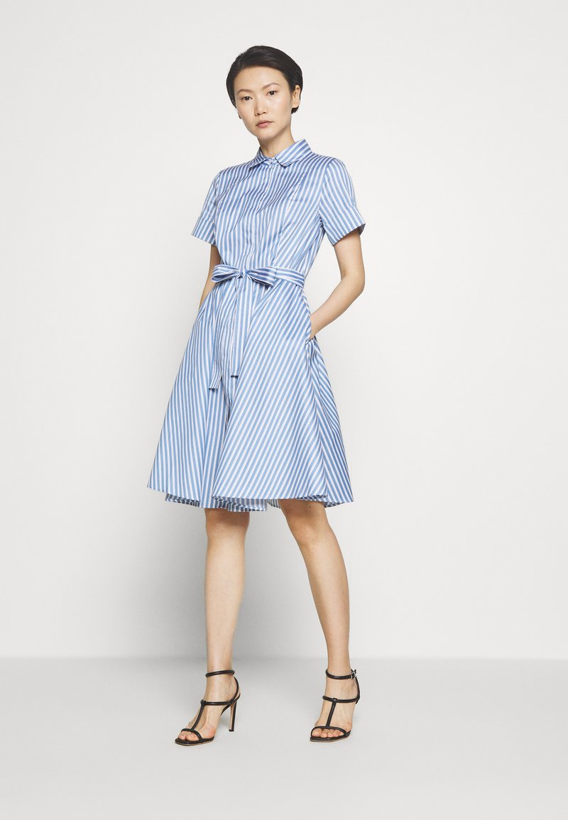 HUGO - EKALIANA - Shirt dress - light/pastel blue