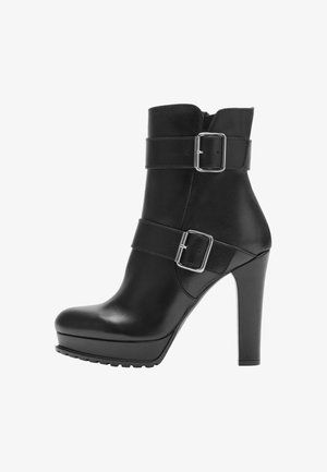 NOEMI - High heeled ankle boots - black
