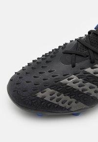 adidas Performance - PREDATOR FREAK .1 FG UNISEX - Moulded stud football boots - black - 5