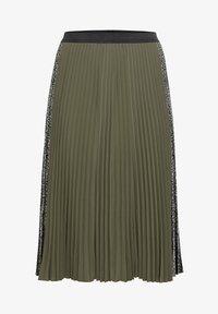 Sheego - A-line skirt - dunkelkhaki - 5