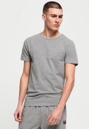 Print T-shirt - lounge blue feeder/lounge grey marl