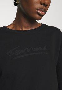 Selected Femme - SLFARTISTA CAMILLE  - Sweatshirt - black - 4