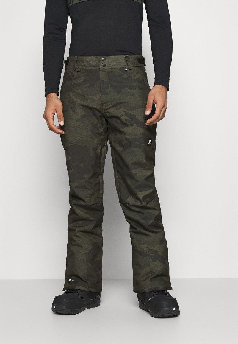 Brunotti - KITEBAR CAMO MENS SNOWPANTS - Zimní kalhoty - pine grey