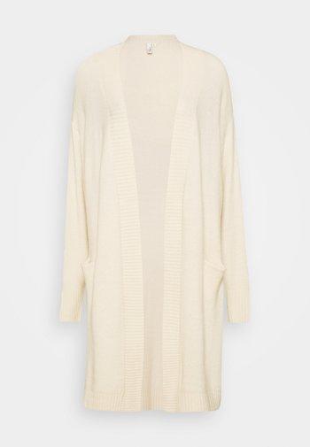 COZY CARDIGAN - Cardigan - beige