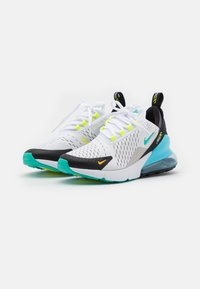 Nike Sportswear - AIR MAX 270 GS UNISEX - Zapatillas - white/hyper jade/black/light graphite - 1