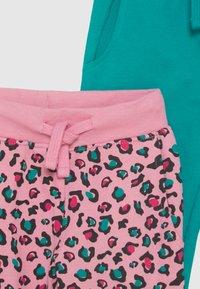 Friboo - 3 PACK - Spodnie treningowe - dark blue/pink/turquoise - 3