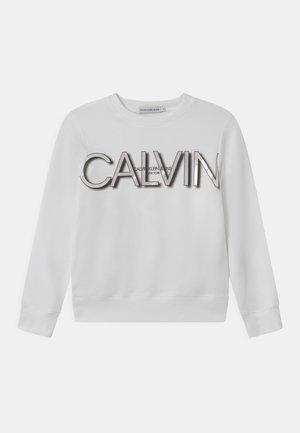 LOGO - Sweatshirt - bright white