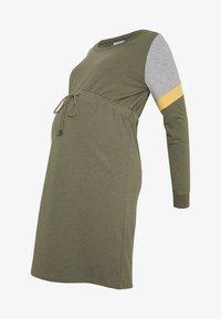 MAMALICIOUS - MLMENA DRESS - Vestido informal - dusty olive - 4