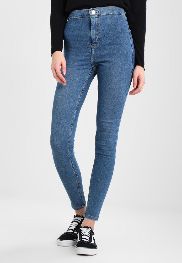 Topshop - JONI - Jeans Skinny Fit - mid denim
