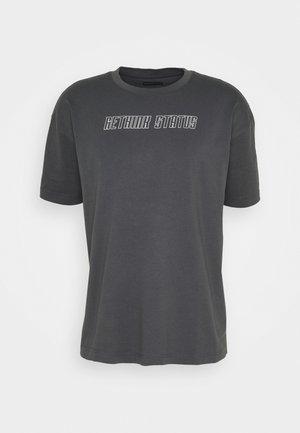 UNISEX - Print T-shirt - iron