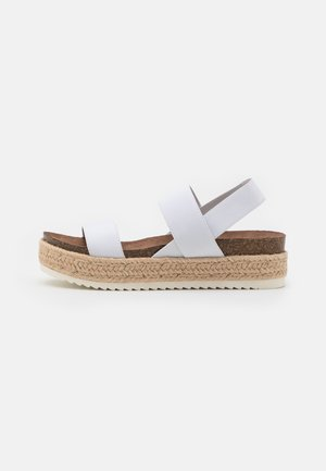 CYBELL - Espadrilles - white