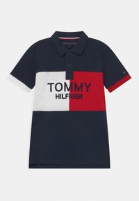 Tommy Hilfiger - COLORBLOCK ARCHIVE - Polo - twilight navy - 0