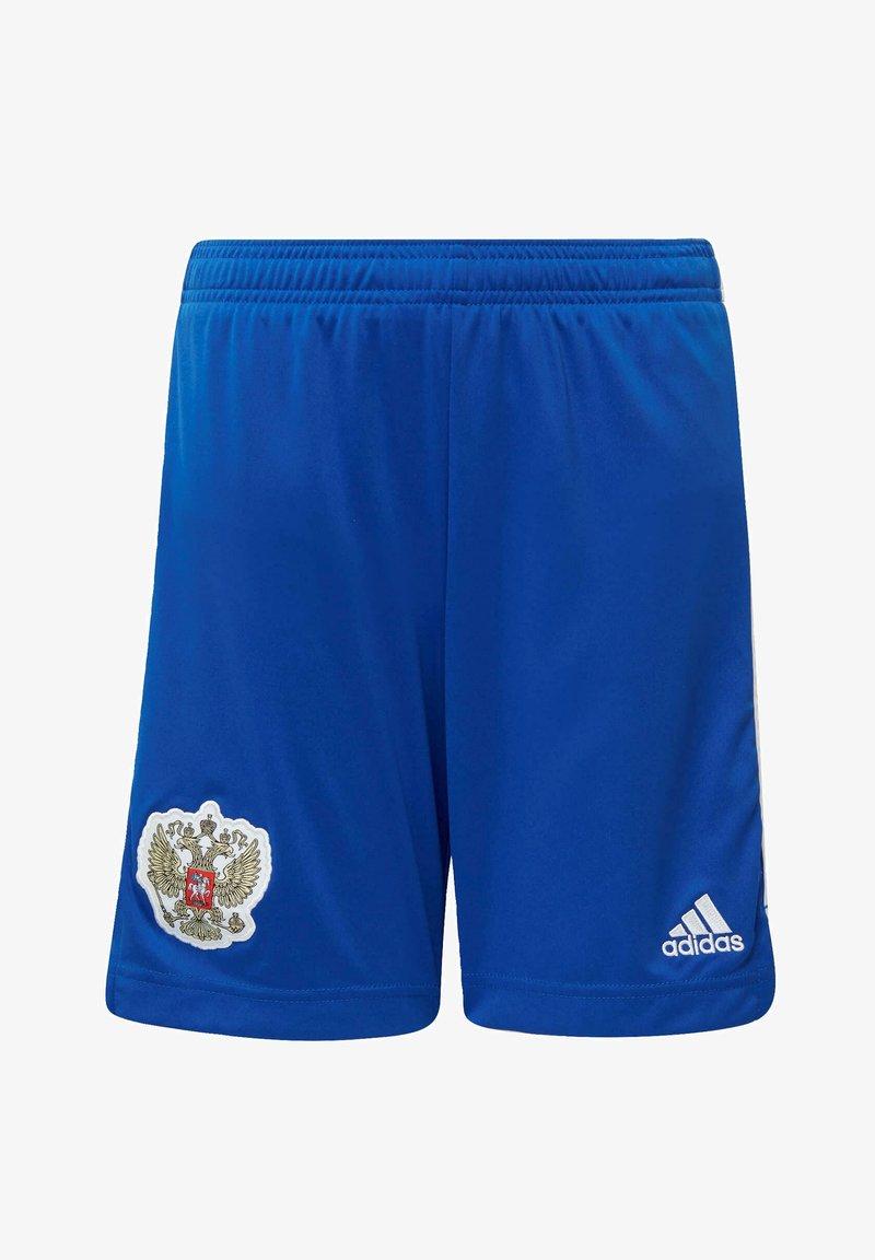 adidas Performance - AWAY RUSSIA - Sports shorts - blue