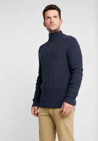 Esprit - ZIPTROYER CAB - Jumper - navy - 2