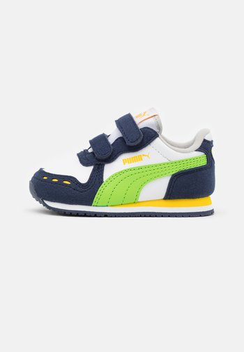 CABANA RACER - Sneakers basse - white/green flash