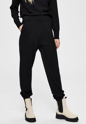 LOOSE FIT  - Pantalon classique - black