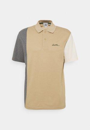 UNISEX - Polo shirt - viennois/mine chine/naturel clair