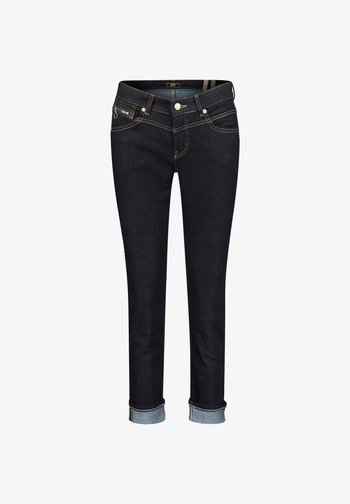 RICH SLIM - Straight leg jeans - darkblue