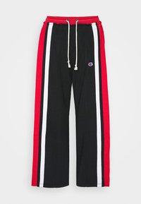 Champion Reverse Weave - WIDE LEG PANTS - Tracksuit bottoms - black - 3