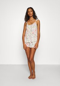 Marks & Spencer London - FLORAL SHORTIE  - Pyjamas - oatmeal mix - 1