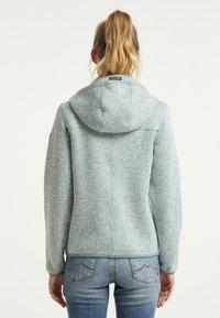 Schmuddelwedda - Fleece jacket - rauchmint melange - 2
