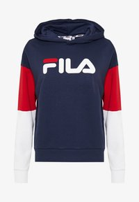 Fila Tall - BARRET CROPPED HOODY - Hoodie - dark blue - 3