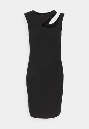 VMMARION CUT OUT DRESS - Shift dress - black