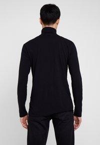 TOM TAILOR DENIM - LONGSLEEVE TURTLENECK  - Long sleeved top - black - 2