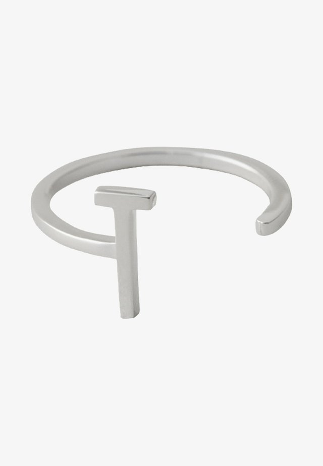 RING T - Ringe - silver