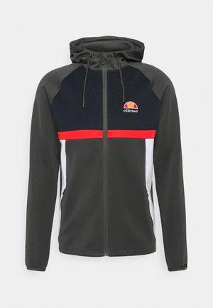 LIZARU HOODY - Zip-up sweatshirt - dark grey