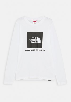 BOX LOGO TEE  - Long sleeved top - white