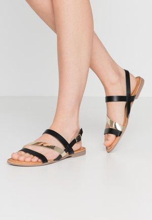 VANCE - Sandals - black