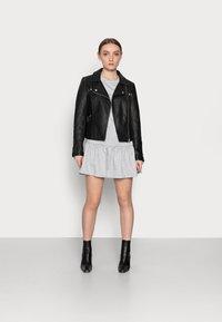 New Look Petite - DROP HEM DRESS - Day dress - grey niu - 1
