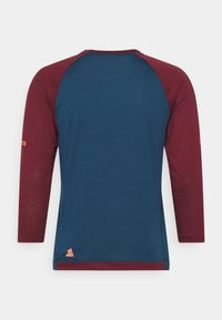 Zimtstern - PURE FLOWZ SHIRT 3/4 MENS - Sports shirt - french navy/windsor wine - 1