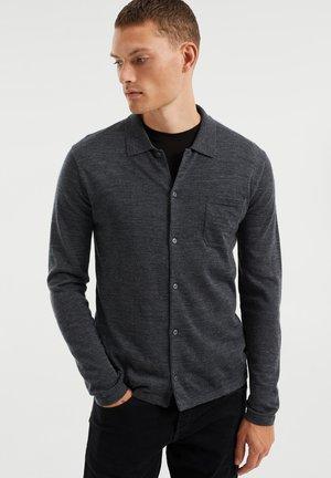 Shirt - blended dark grey
