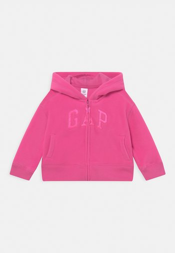 LOGO ACTIVE  - Fleece jacket - happy pink