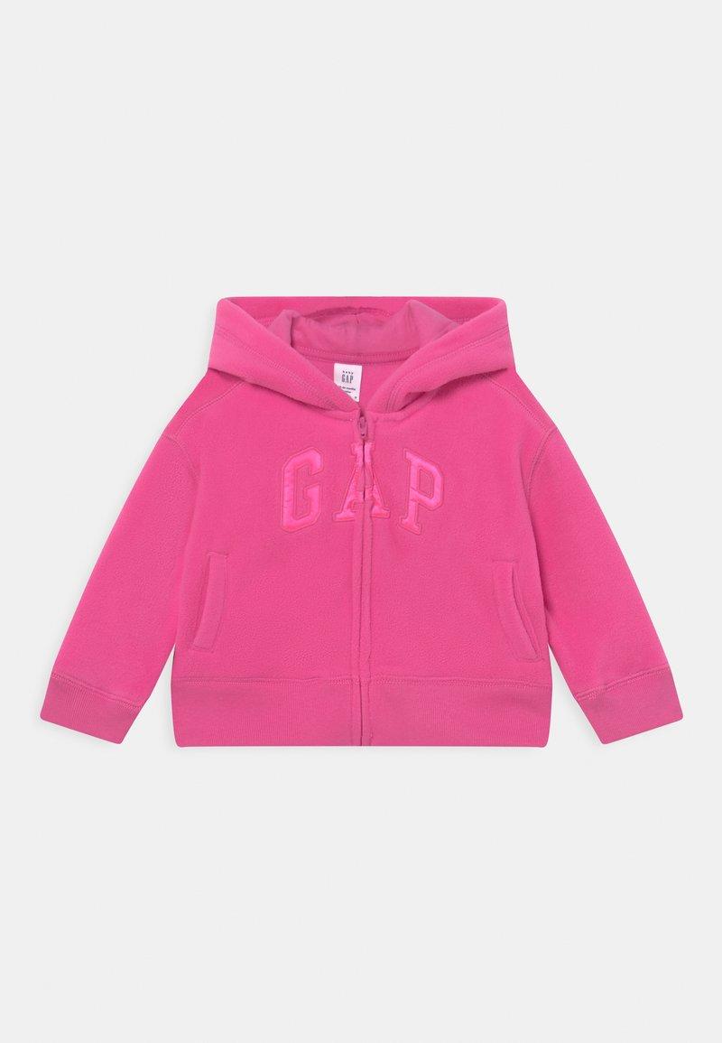 GAP - LOGO ACTIVE  - Fleece jacket - happy pink