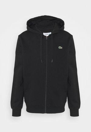CLASSIC HOODIE - Mikina na zip - black