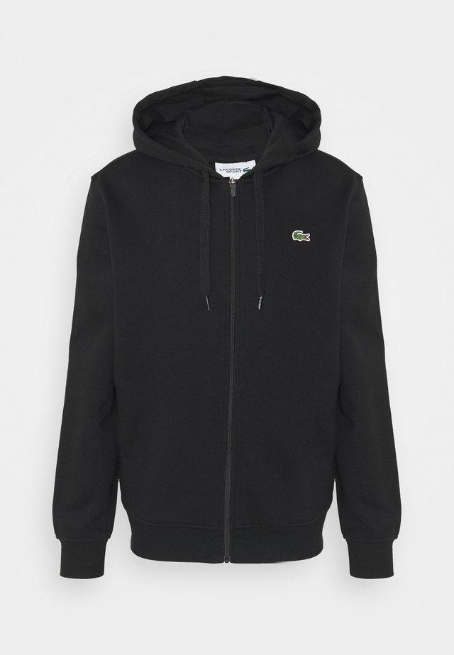 CLASSIC HOODIE - veste en sweat zippée - black