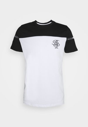 COLLECTIVE - T-shirt con stampa - optic white/jet black