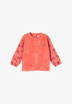 EN VELOURS NICKI - Fleece jumper - light orange