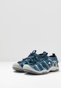 Keen - EVOFIT 1 - Walking sandals - navy/bright blue - 2
