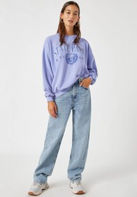 PULL&BEAR - Sweatshirt - mottled blue - 1