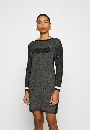 ABITO MAGLIA - Vestido de tubo - nero lux