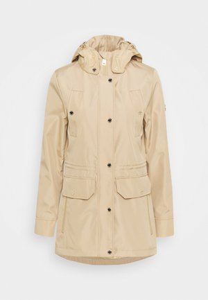4 POCKET ANORAK - Classic coat - khaki