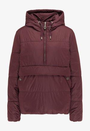 Zimní bunda - bordeaux